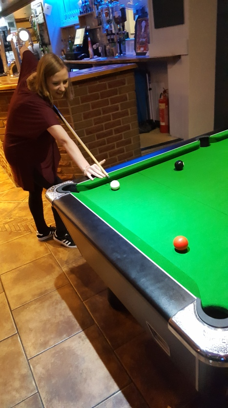 The Pool Shark in Action!